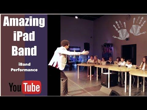 iPad Band - Garageband Performance - Music Hands