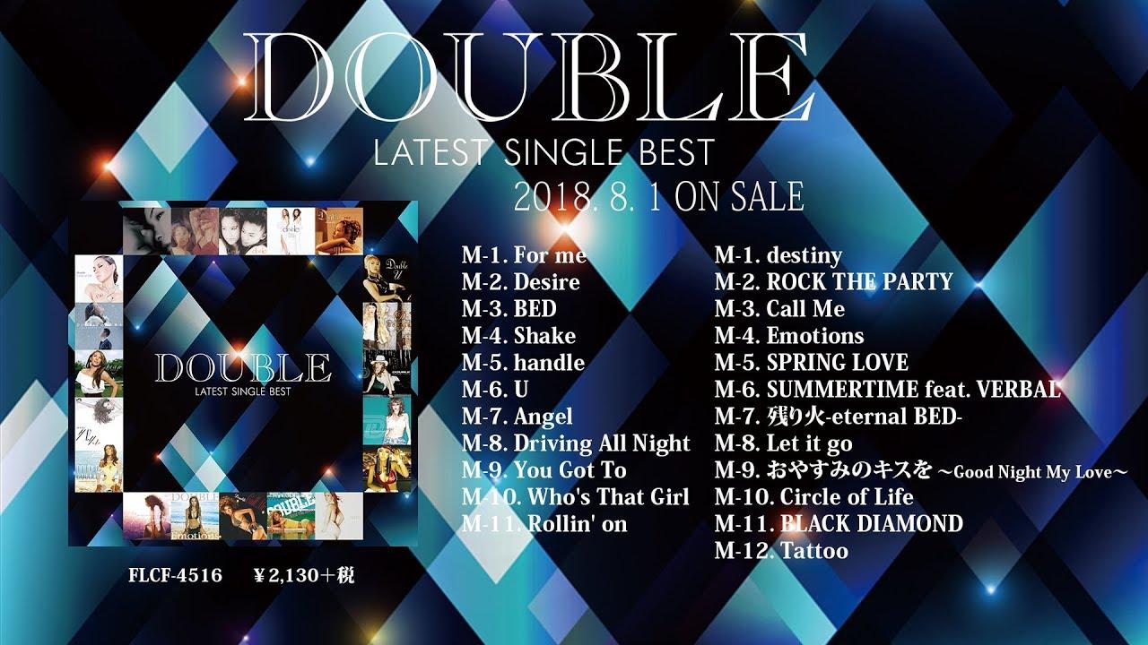 20th anniversary double double latest single best トレイラー映像