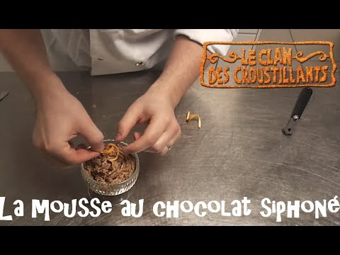 Comment Réaliser La Mousse Au Chocolat Au Siphon Youtube