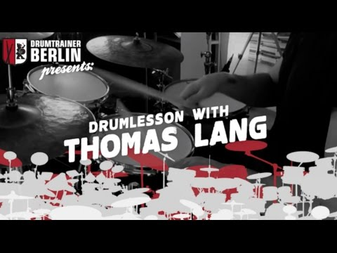 Thomas Lang - Drumlesson for Drumtrainer Berlin