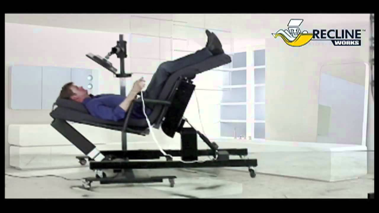 Zero Gravity Chair Workstation 9 Youtube