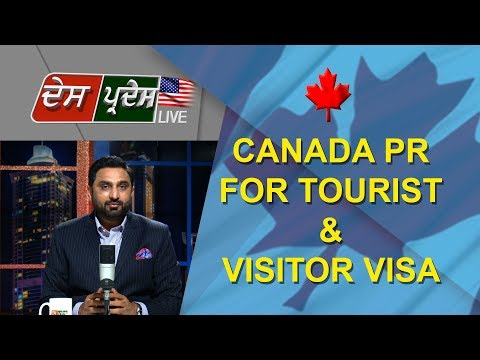 Canada PR for Tourist & Visitor Visa