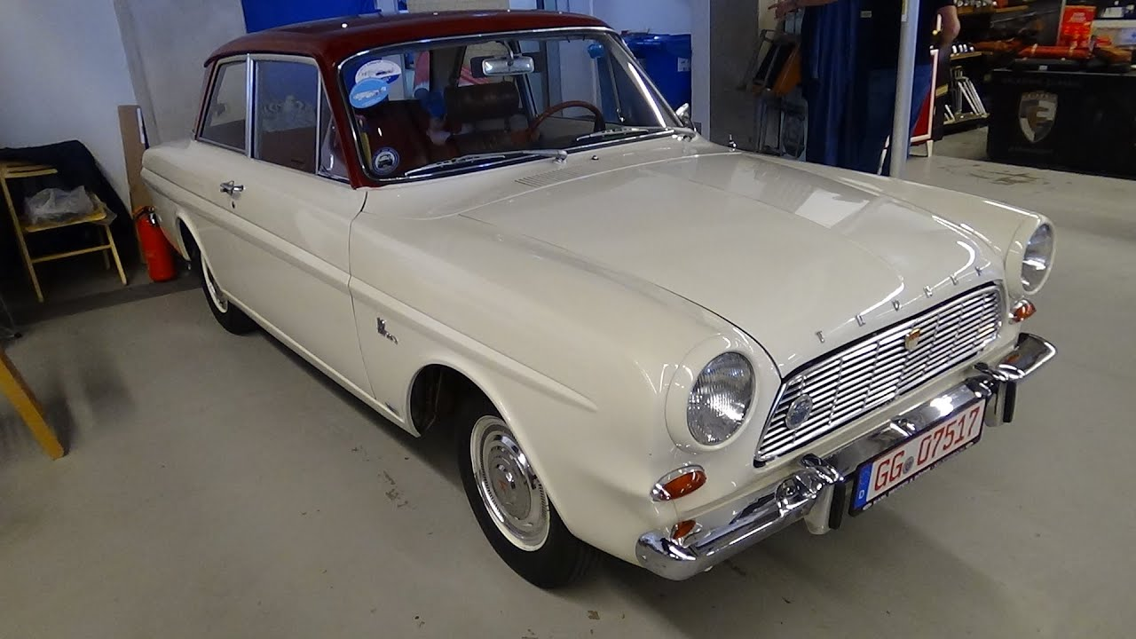 1965 1966 ford taunus 12m veterama mannheim 2015 youtube. Black Bedroom Furniture Sets. Home Design Ideas