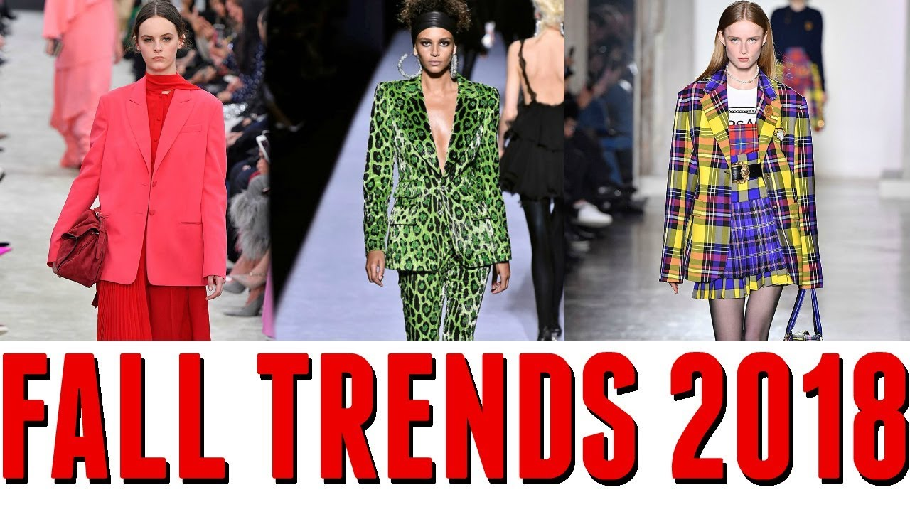 b943230bf5b5 TOP 10 FALL FASHION TRENDS 2018 - YouTube
