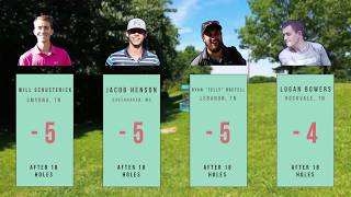 Music City Open Round 2 Chase Card Front 9- Schusterick, Henson, Bretell, Bowers