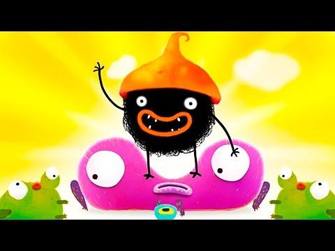 ПРИКЛЮЧЕНИЯ ЧУЧЕЛ мультик игра для маленьких детей #18 игровой мультфильм 2018 Chuchel Черный шарик!