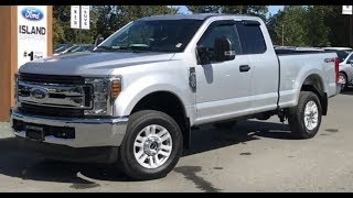 2019 F0rd F-250 XLT V8 SuperCab Review| Island Ford