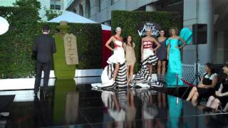 Alice In Wonderland Inspired Gowns Fashion Show At FIDM