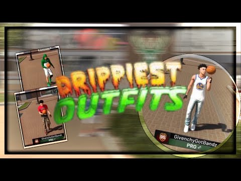 Nba 2k19 Best Drippy Outfits🔥🔥🔥