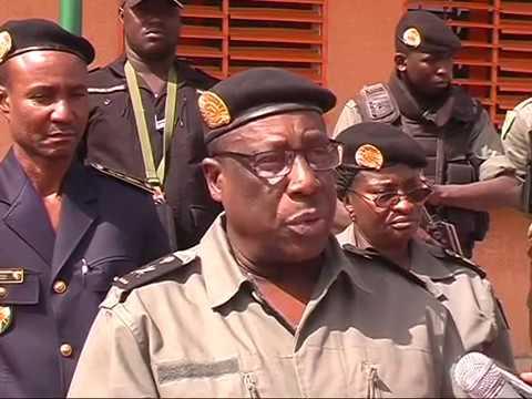 Lancement du poste de police frontière à Kongokiré