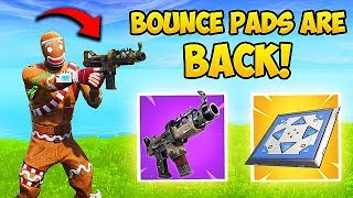 *NEW* TAC SMG & BOUNCE PADS ARE BACK! - Fortnite Funny Fails and WTF Moments! #417