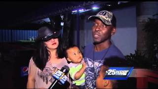 Marine surprises family at concert