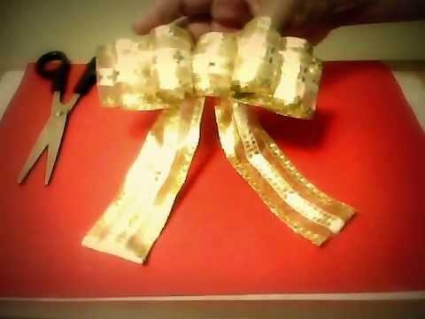 moos y lazos navideos para regalo