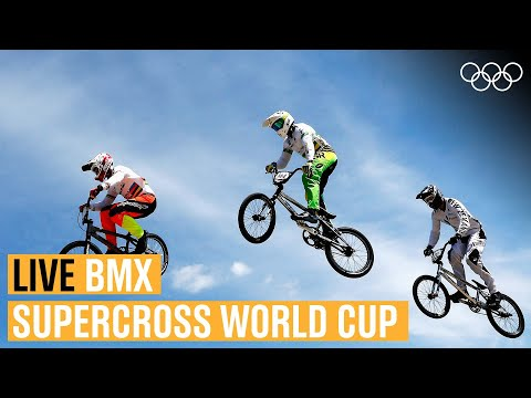 LIVE BMX action from the Supercross World Cup! ????| Round 5