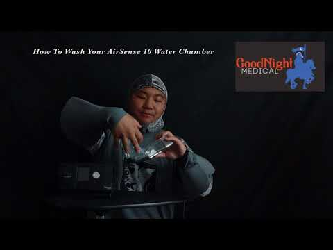 How To Wash Your AirSense 10 Water Chamber - GoodNight Medical