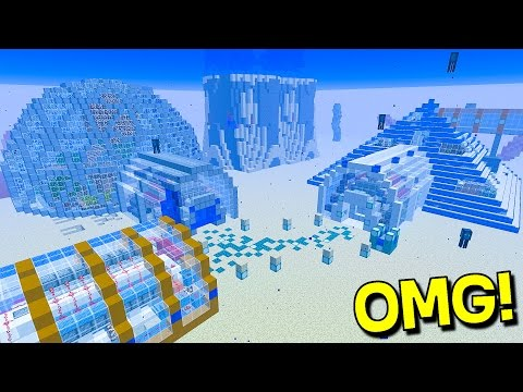 Thumbnail: ULTIMATE UNDERWATER REDSTONE MINECRAFT HOUSE!