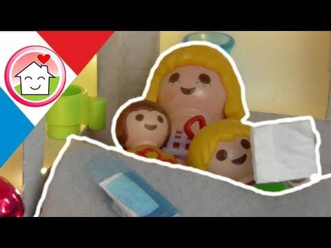 Playmobil en français Tous malade - La famille Hauser