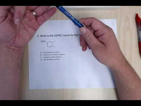 ACS Organic Chemistry Final Exam Review - Nomenclature