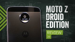 Moto Z Review: Four Phones In One(The Moto Z is unlike any other smartphone you can buy today, with a frame barely 5mm thick and slap-on