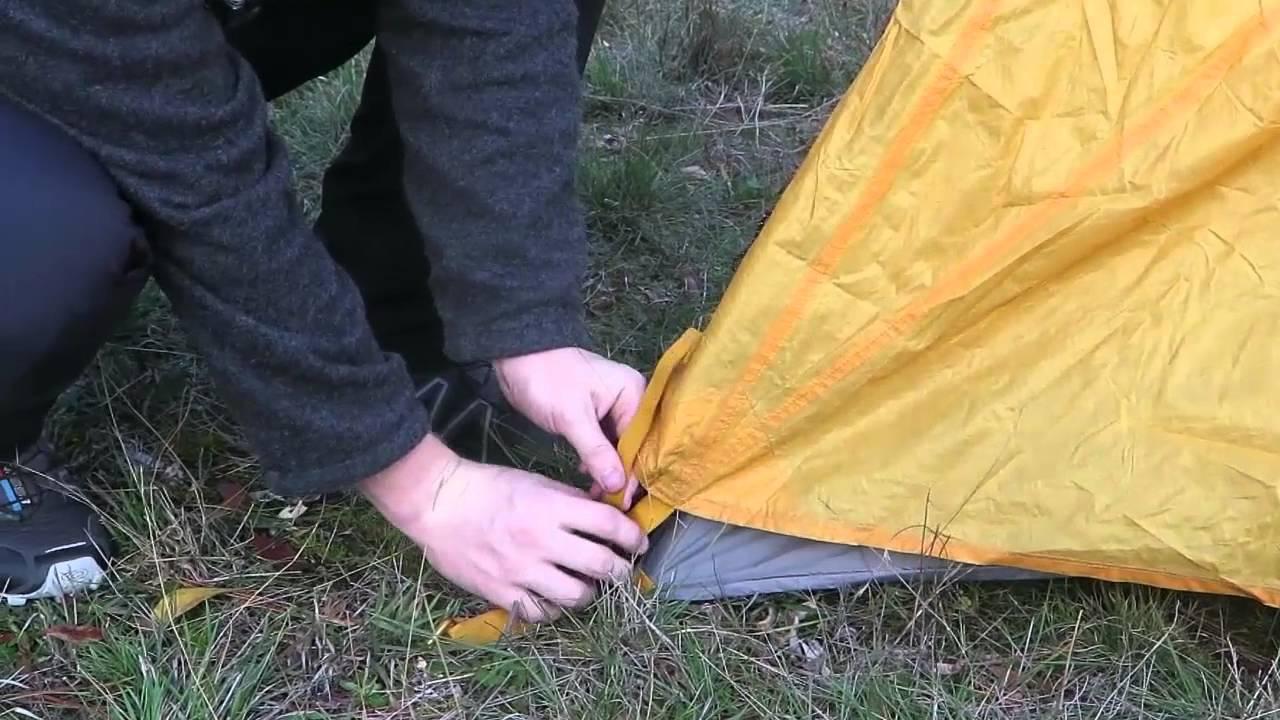 Setting up the Black Diamond Tent & Setting up the Black Diamond Tent - YouTube