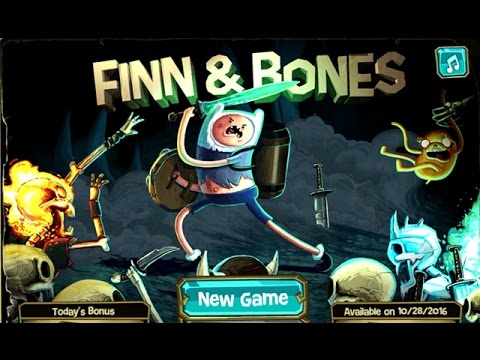 Adventure Time - FINN & BONES (Level 1-8) - Cartoon Network Games