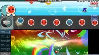 [osu! Taiko] My Little Pony Intro (Glitch Remix) [TOUCH THE RAINBOW!] (SD) (S)
