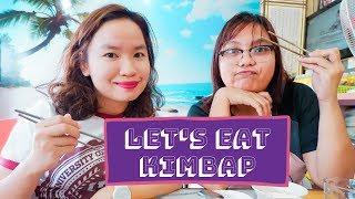 Let's Eat Kimbap