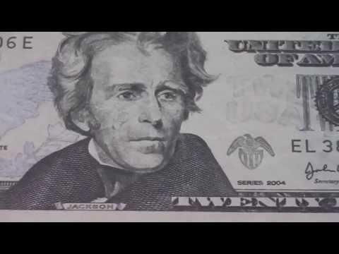 Wer war Andrew Jackson ? - Der 20 US-Dollar Schein