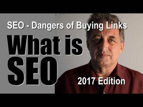 SEO Tutorial   The dangers of buying in links to your website