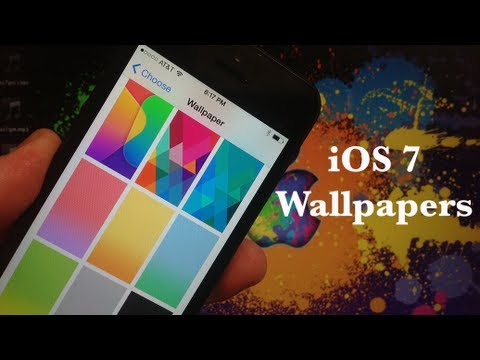 iOS 7 NEW Wallpapers - Download Them Here!