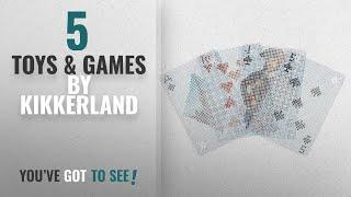 Top 10 Kikkerland Toys & Games [2018]: Kikkerland Pixel Playing Cards
