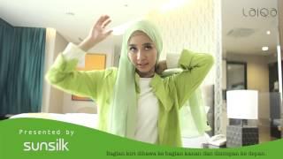 "Tutorial Hijab by Laudya Cynthia Bella ""Fresh Drapery Look"""