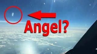 Angel found in ''Pilot LX'' Video. ''The Flat Earth Pilot'' captures an Angel on Camera. ✅