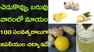 Natural Medicines for Weight Loss in Japan | Latest News and Updates | VTube Telugu