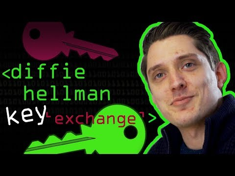 Secret Key Exchange (Diffie-Hellman) - Computerphile