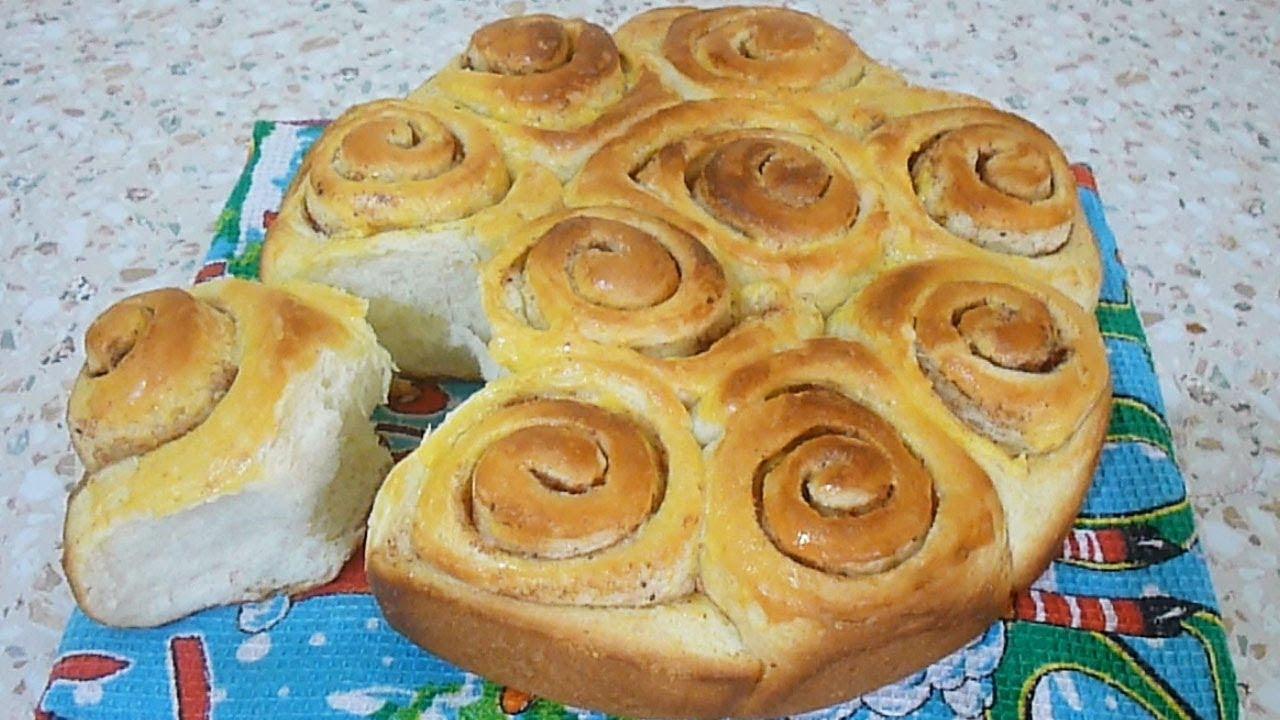 домашние булочки самый простой рецепт