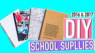 DIY Back to School Supplies 2016-2017!!