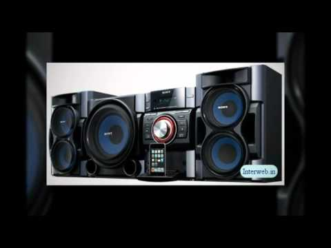feel the power with sony mhc ec909ip compact stereo youtube. Black Bedroom Furniture Sets. Home Design Ideas
