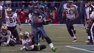 Seahawks vs. Saints 2010 NFC Wild Card Game - Lynch's 67-Yard Run