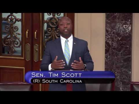 Senator Scott Shares Personal Experiences with Law Enforcement Officers as Black Man on Senate Floor
