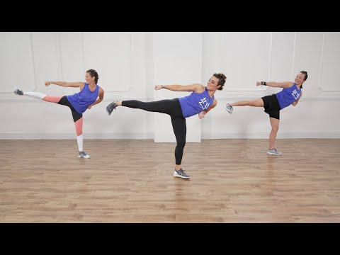 30-Minute BodyCombat-Inspired Workout With Boxing, Kung Fu,