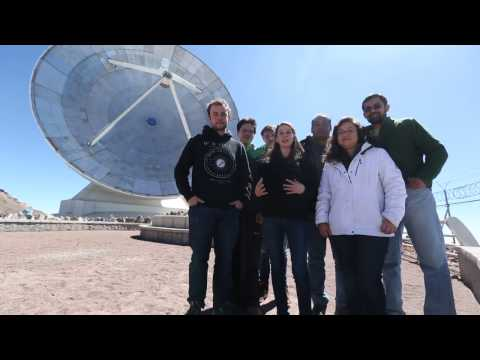 The Event Horizon Telescope - Hello from the LMT