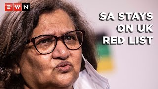 ANC's Jessie Duarte commented on the United Kingdom's decision to keep South Africa on its red list for travel. South African travellers wanting to go to the UK will be subjected to restrictive and expensive quarantine conditions, regardless of vaccination.  #UKredlist #COVID19