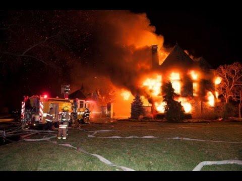 6 feared dead Maryland Multi-million dollar Mansion Blaze