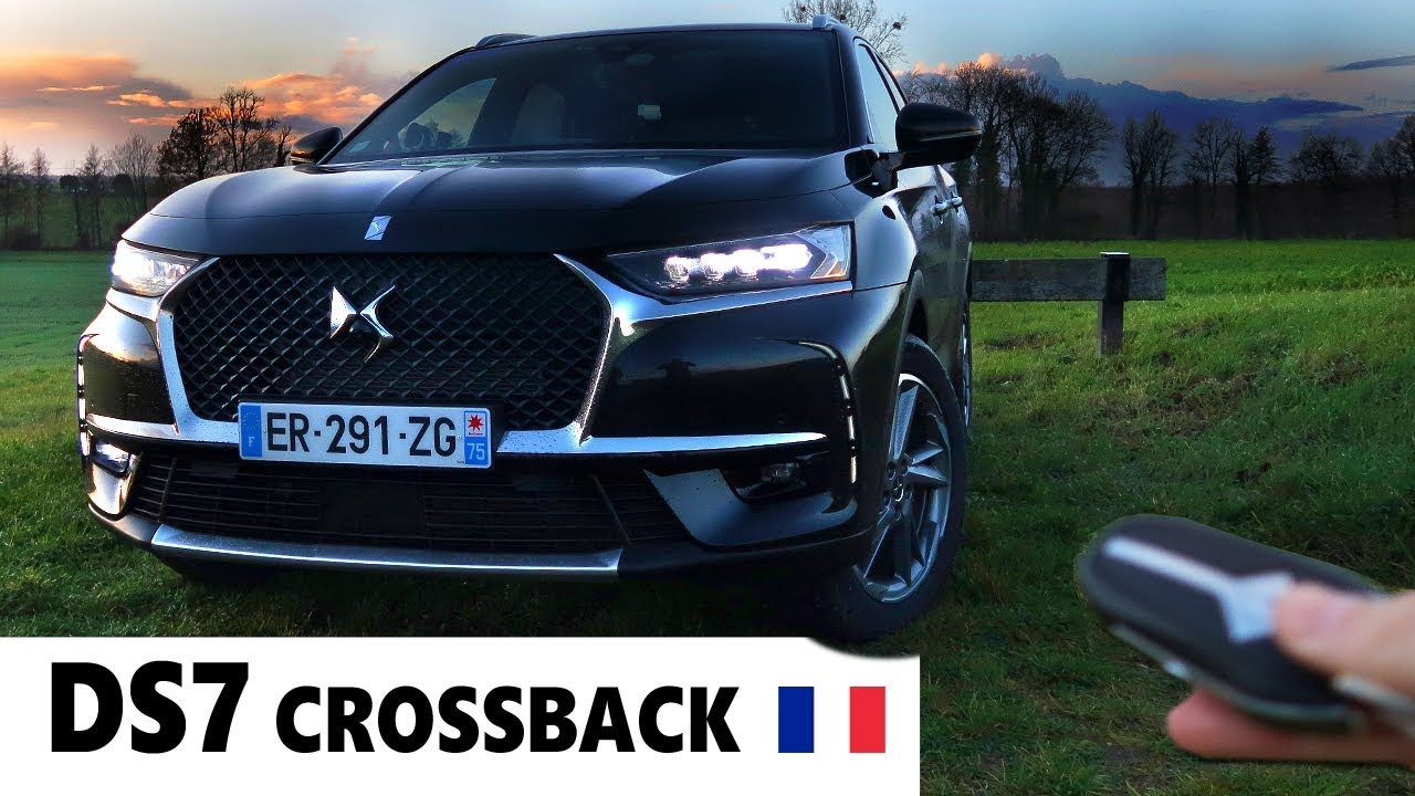 ds7 crossback 2018 est il un vrai suv premium youtube. Black Bedroom Furniture Sets. Home Design Ideas