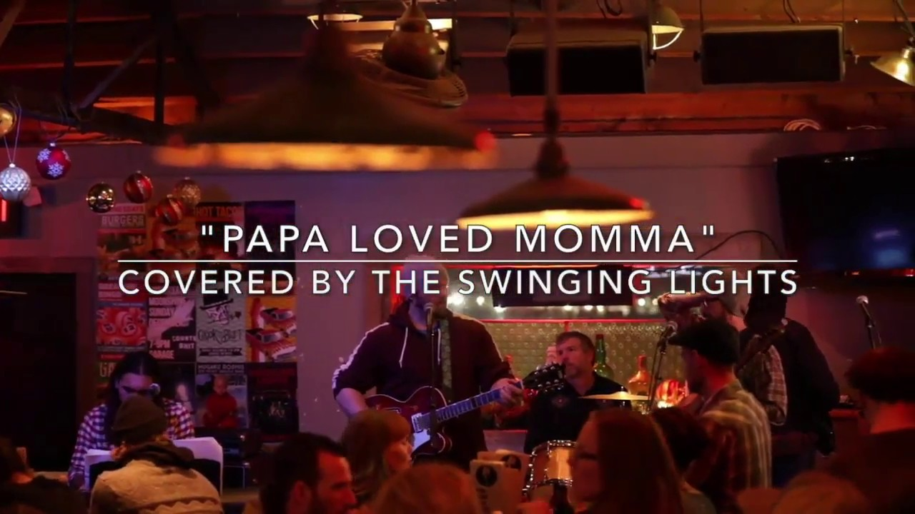 Garage On Beck The Swinging Lights Papa Loved Momma At The Garage On Beck 12 6 2018