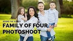 Family of Four Photo Session, Posing Ideas, BTS with Sacramento Photographer Svitlana Vronska