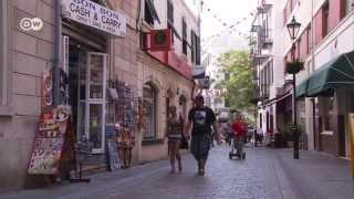 Affentheater um Gibraltar - Zank zwischen Briten und Spaniern | Journal Reporter