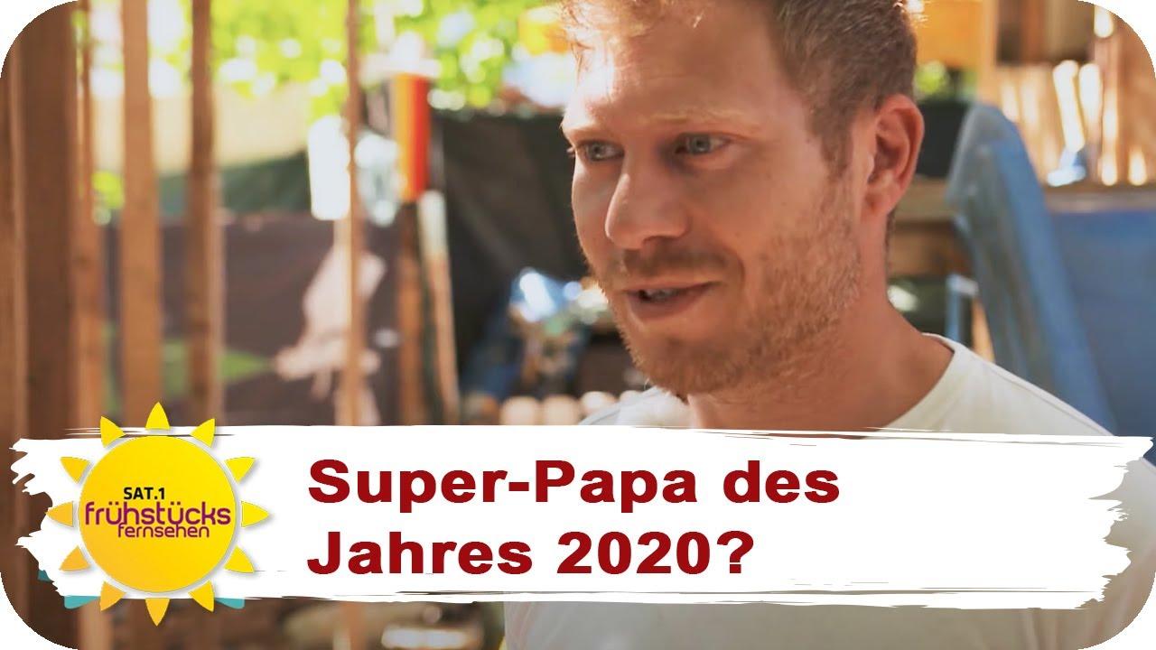 Krass: Vater baut XXL-Spielplatz im eigenen Garten! | SAT.1 Frühstücksfernsehen