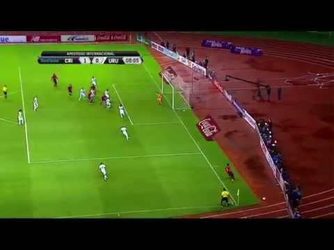 Fecha FIFA: Costa Rica 1 - 0 Uruguay